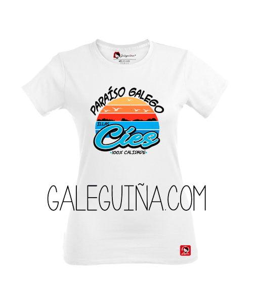 Camiseta Rapaza Cíes