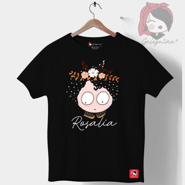 Camiseta rosalía negra
