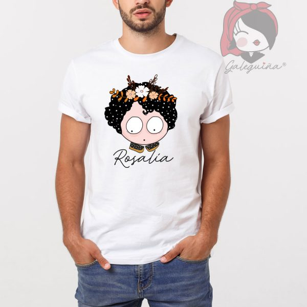 Camiseta rosalía unisex modelo