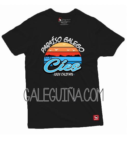 Camiseta paraiso galego unisex