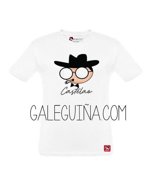 Camiseta Castelao para nenos