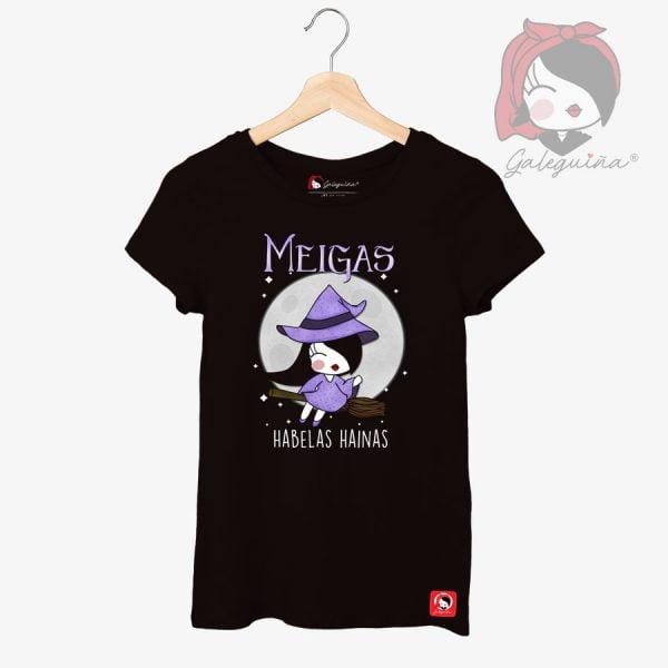 Camiseta meigas rapaza