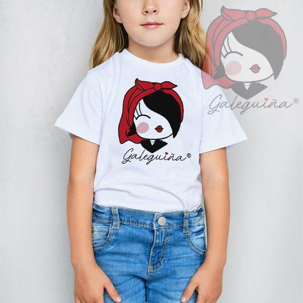 Camiseta Galeguiña para nenos