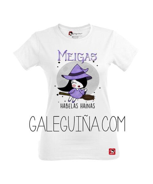Camiseta rapazas meiga