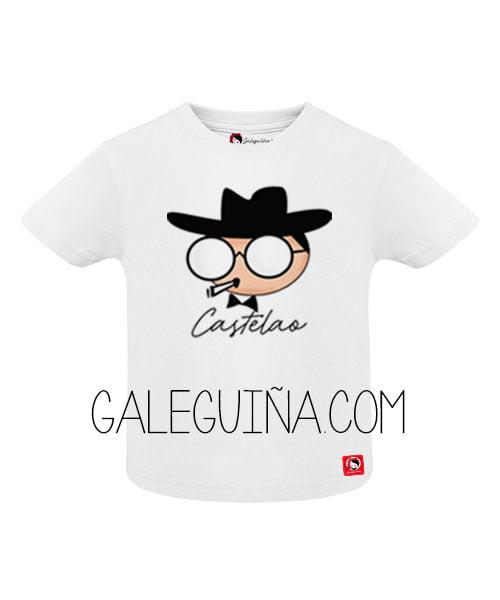 Camiseta castelao para bebés