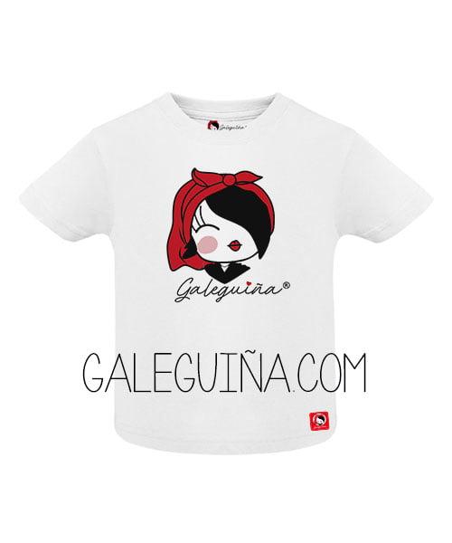Camiseta Galeguiña para bebés