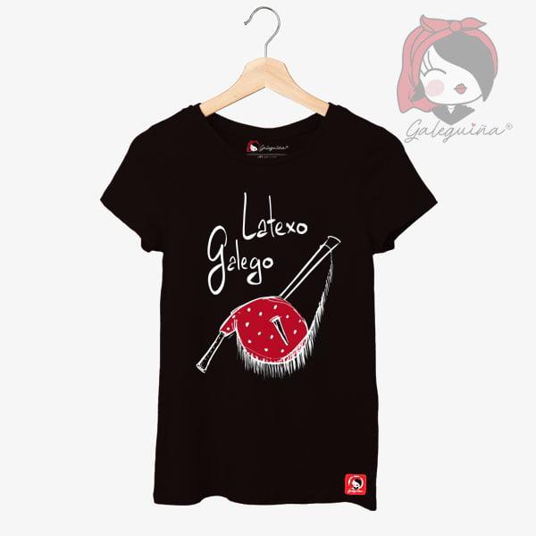 Camiseta Latexo Galego Rapaza
