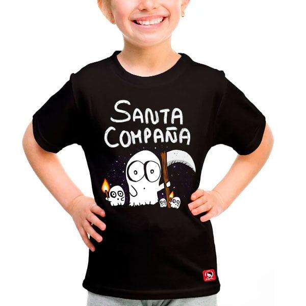 Camiseta Santa Compaña nenos