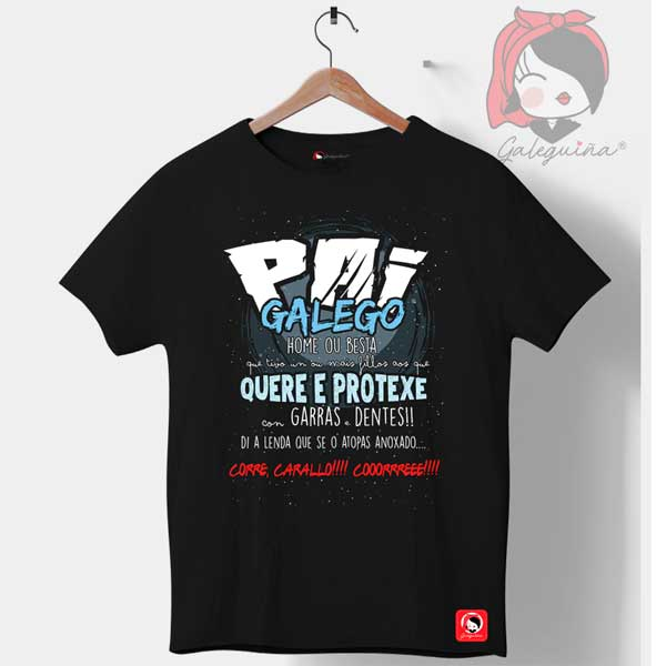 Camiseta Pai Galego