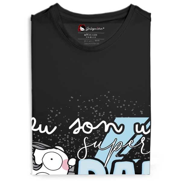 Camiseta eu son un super pai caralludo