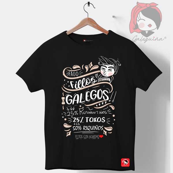 Camiseta Pai fago fillos Galegos
