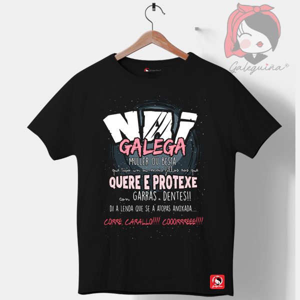Camiseta Nai Galega unisex