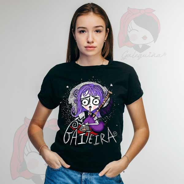 Camiseta Gaiteira rapaza