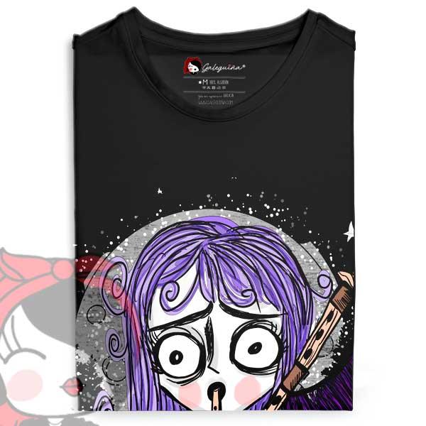 camiseta gaiteira rapaza doblada