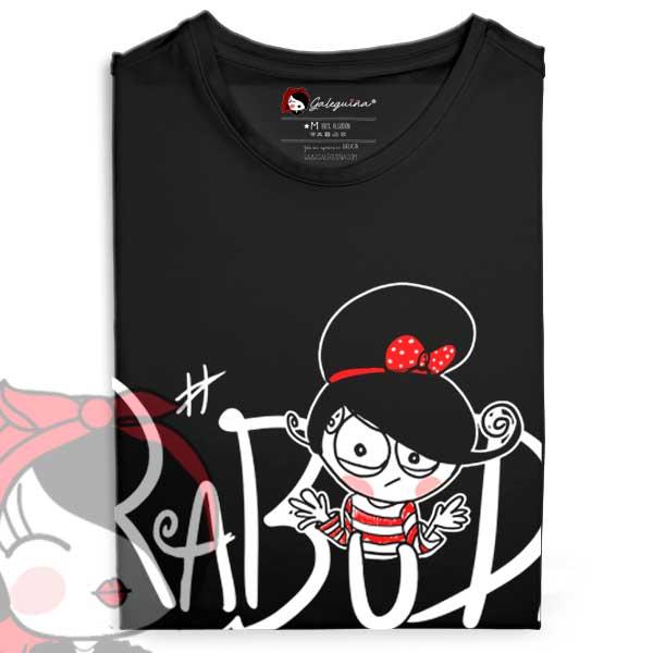 Camiseta Rabuda Rapaza