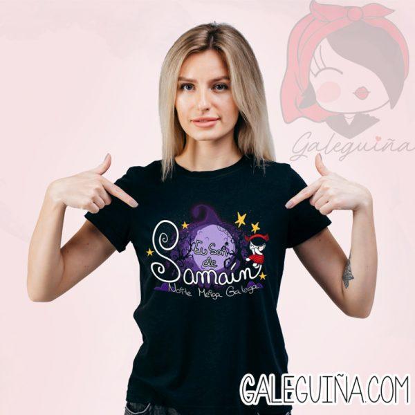 Camiseta samain rapaza
